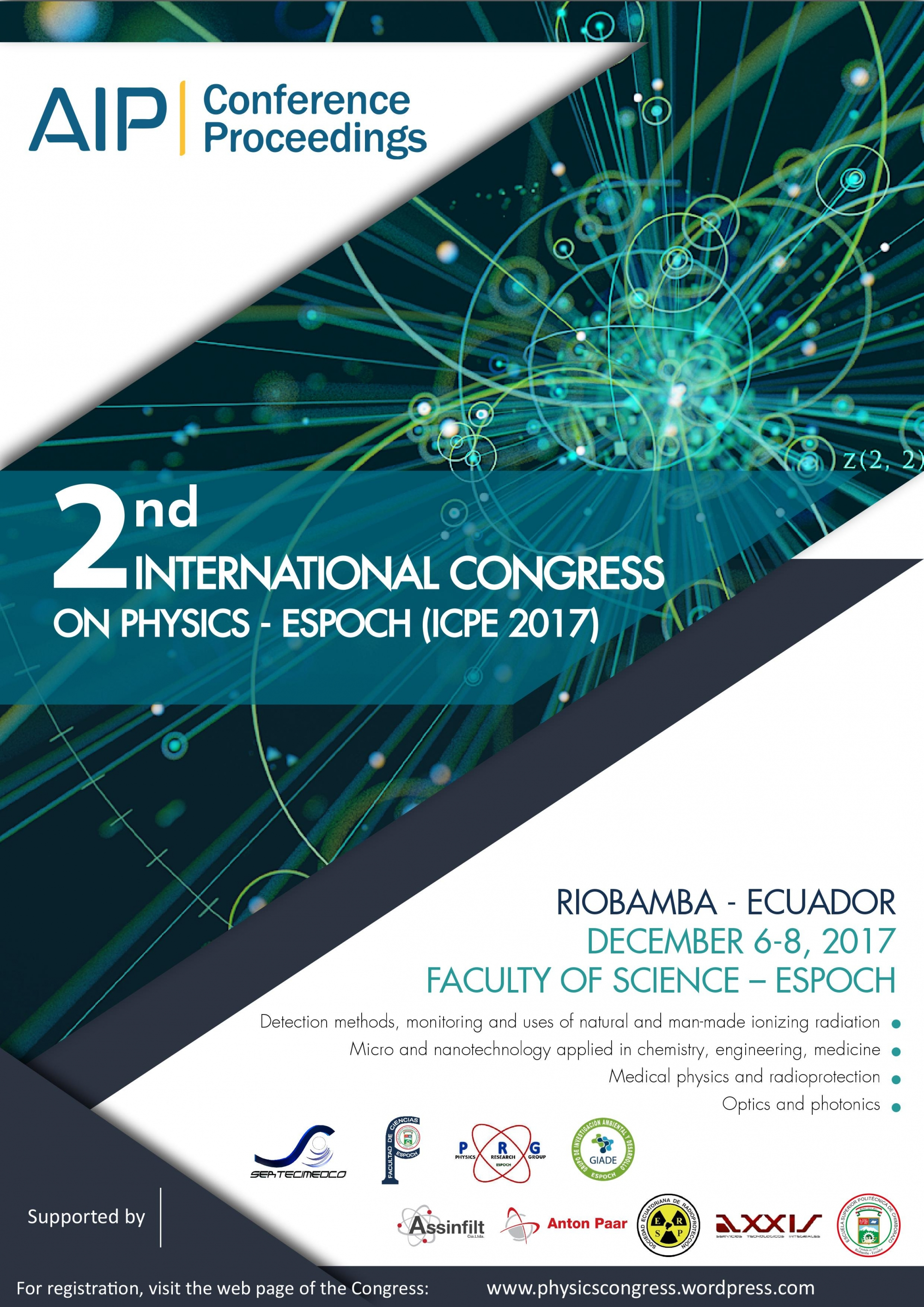 2ND INTERNATIONAL CONGRESS ON PHYSICS - ESPOCH (ICPE 2017)